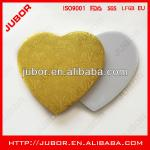 Heart Shaped Cake Drums,Gold And Silver Corrugated With 12mm Thick