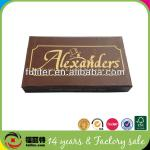 high quality magnetic personalized custom cigar boxes wholesale