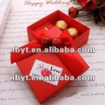 Luxury beautiful paper box for gift packaging