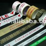 Non-stretchable and Economic High Tacky Adhesive OPP Printed Tape