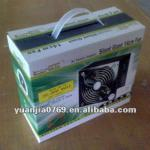 Paper corrugated packaging carton