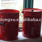 steel collecting pail