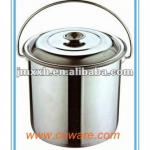 Straight Stainless Steel Water Barrel(with lid)