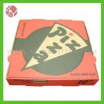 Stylish designing high quality corrugated printing pizza box packaging