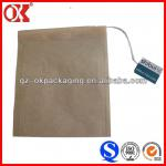 empty tea fliter bag with draw string