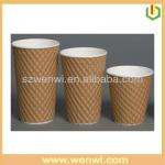 Kraft paper cup paper coffee carton cup