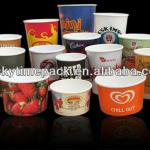 High quality Custom Printed Frozen Yogurt Cup