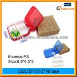 hot selling plastic portable promotion pill storage case